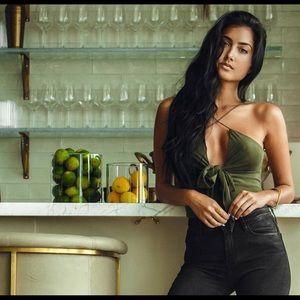 Stylestalker Other - 💄Stylestalker Thebes Bodysuit in Olive Green! XS